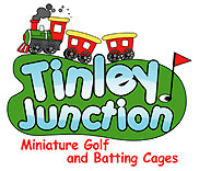 Tinley Junction Mini Golf and Batting Cages Logo