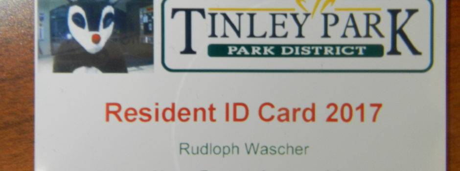 2017 Resident ID Card
