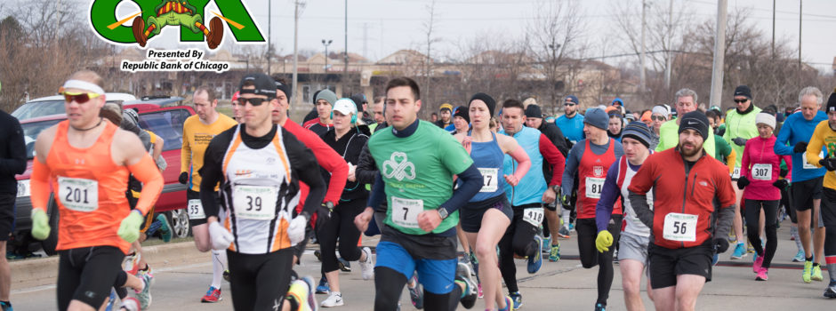 2017 Running O' the Green 8k Results