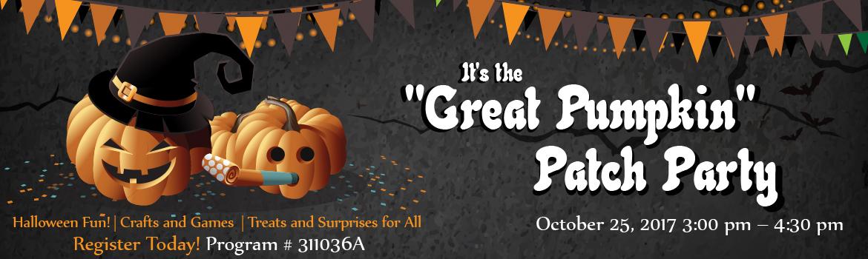 Great Pumpkin Patch Party Slider