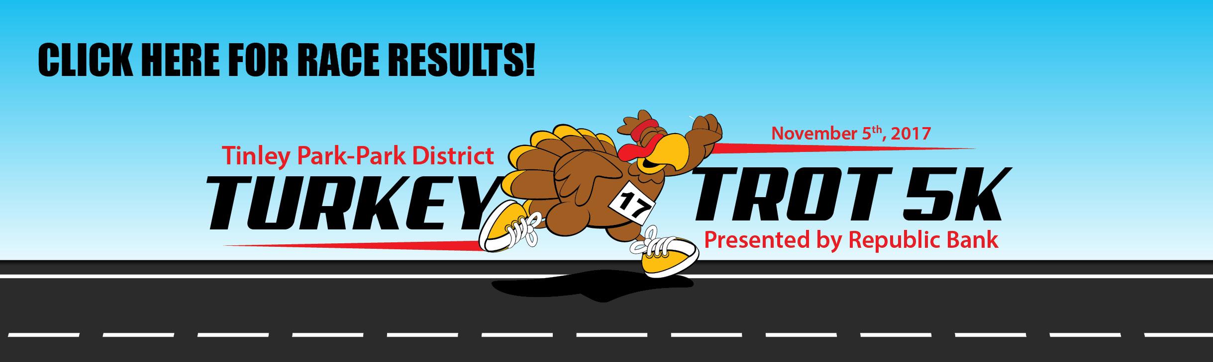 Turkey Trot 2017 Race Results Slider