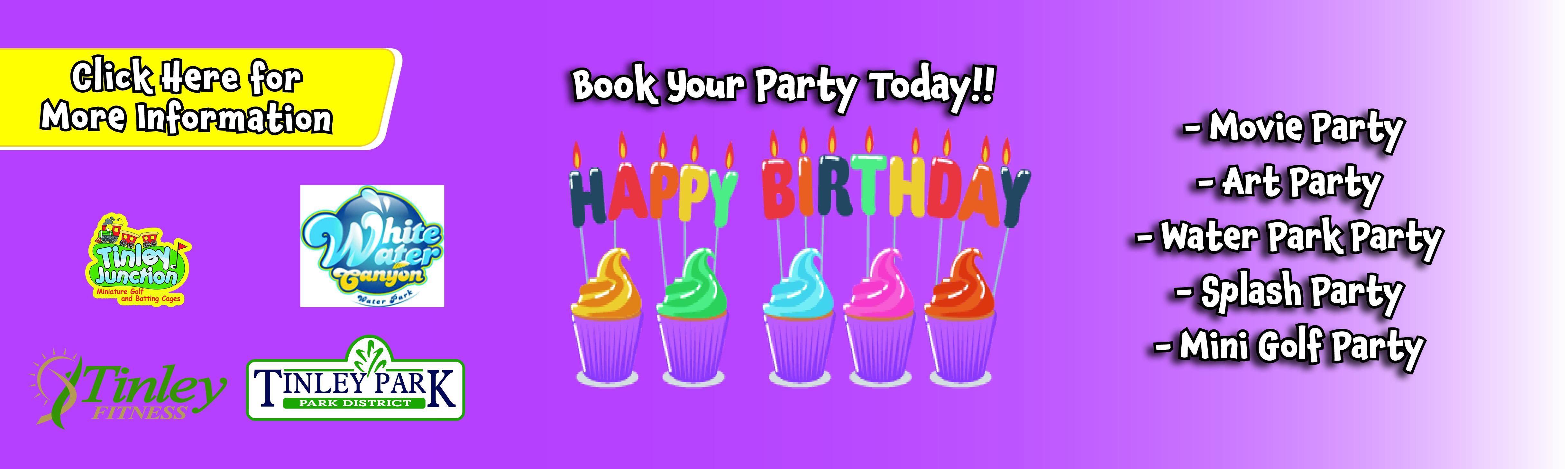 Summer birthday parties
