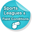 Sports Leaugues & Field Conditions