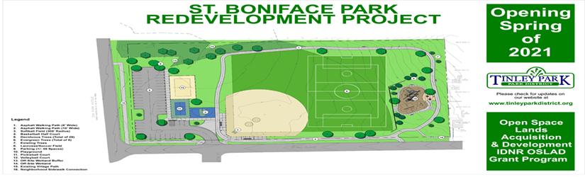 St. Boniface Park Update
