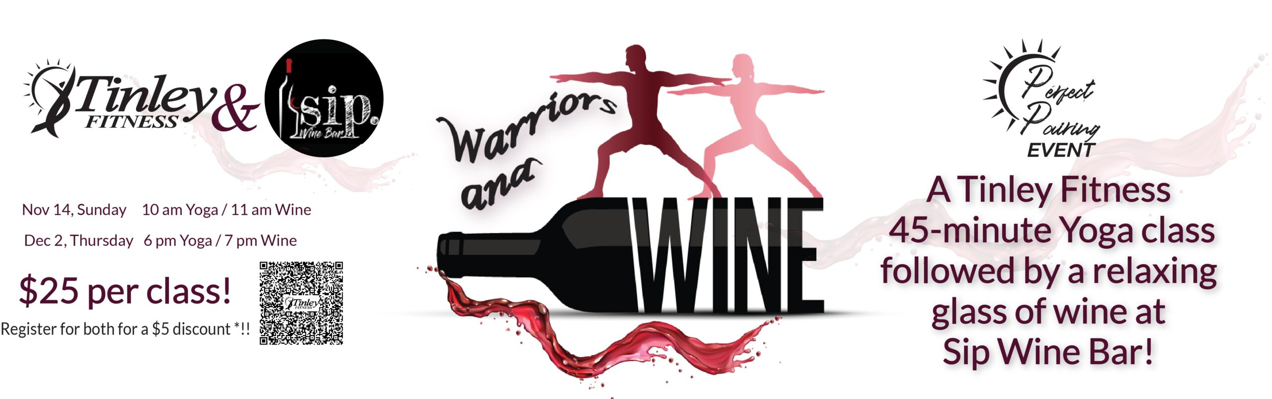 Wine & Warriors Homepage Slider 1170X350